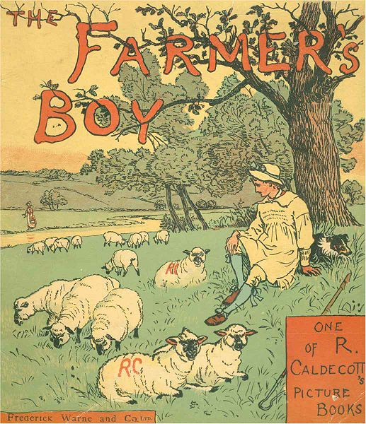 A very old book about the Farmer Boy Almanzo