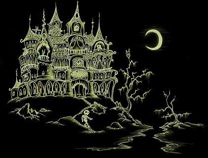 Cydney's ghostly Castle is the settings for some wonderful Fairy Tales.