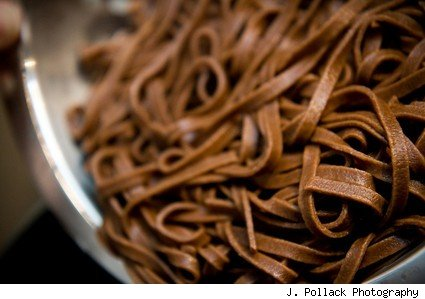 chocolate pasta Linguine