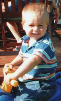 Charlie when he was little he he