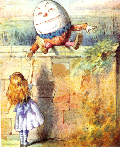 Humpty and Alice xxx