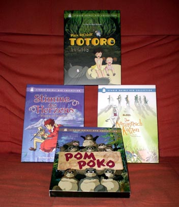 Some of the 17 Ghibli Films